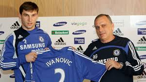 The day Branislav Ivanovic was handed the Chelsea Shirt number 2 when it was coached by Avram Grant in 2008.