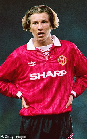 His Father Robbie Savage at Manchester United's academy in 1991-1993 Under Sir Alex Ferguson.
