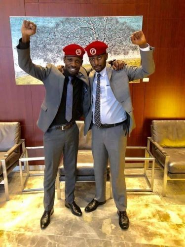Bobi Wine and Lewis Narrates how they first Met